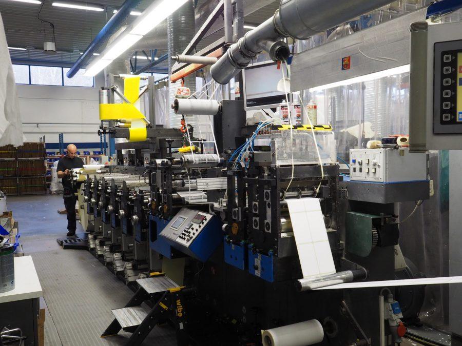 GALLUS EM 280 6 colours flexo printing machine