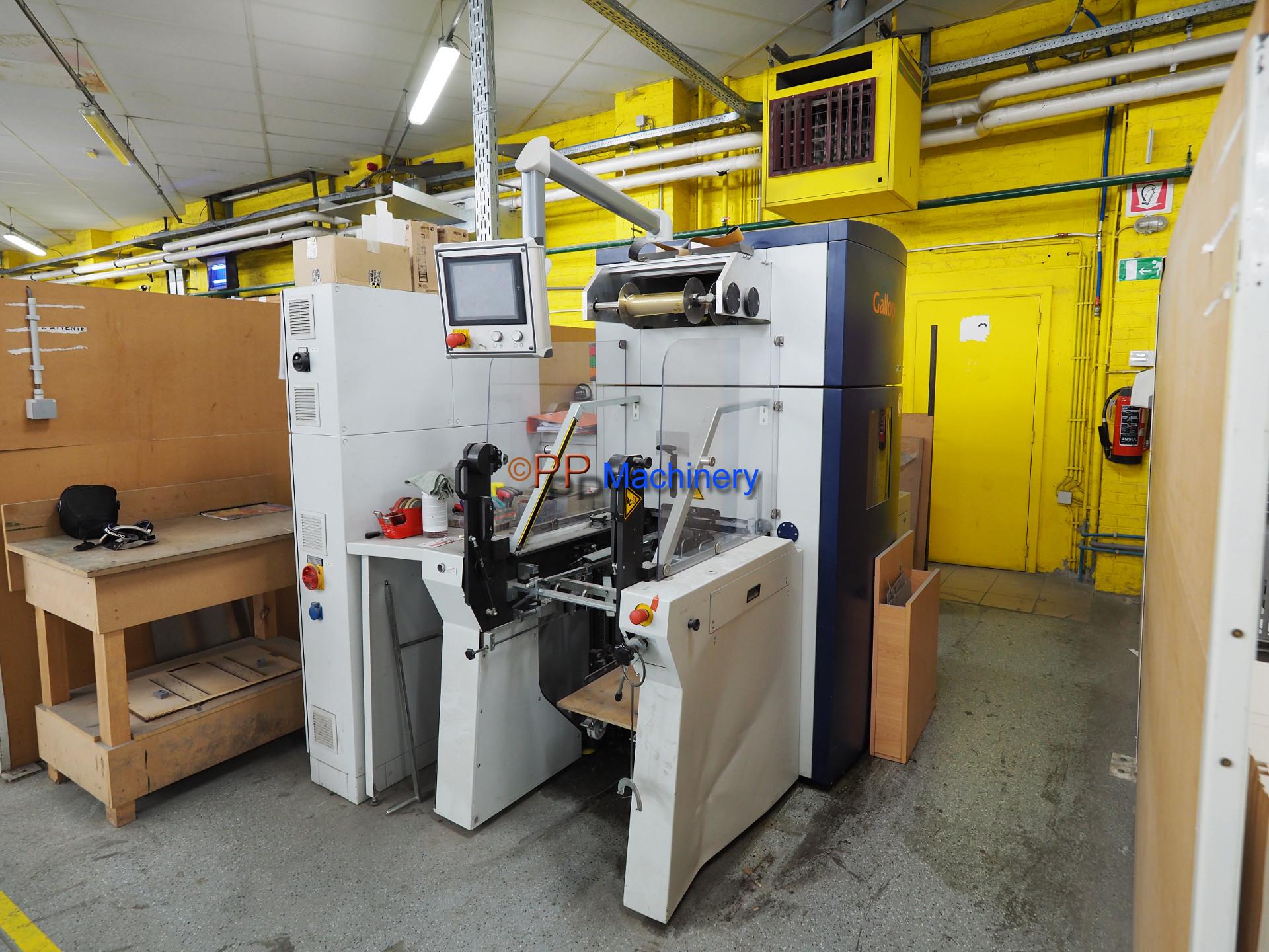 KAMA HFS 58 Automatic Hot Foil machine