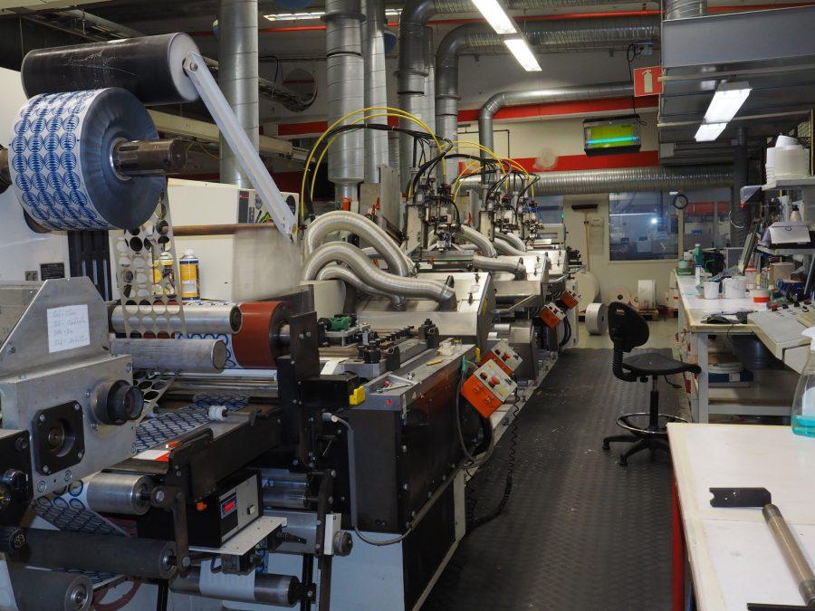 WERNER KAMMANN Screen Label Printing