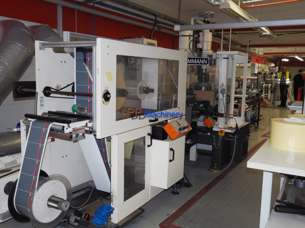 Kammann heavy duty label die cutter
