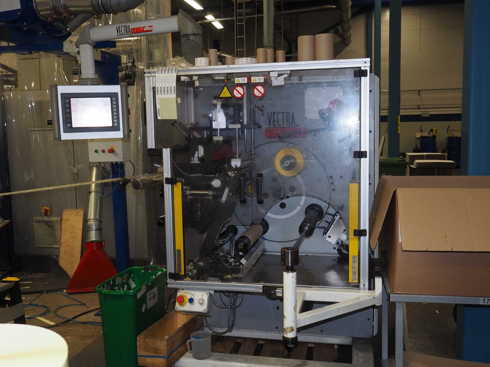 ABG Vectra Turret Rewinder Rewinding for smaller cores from 2003