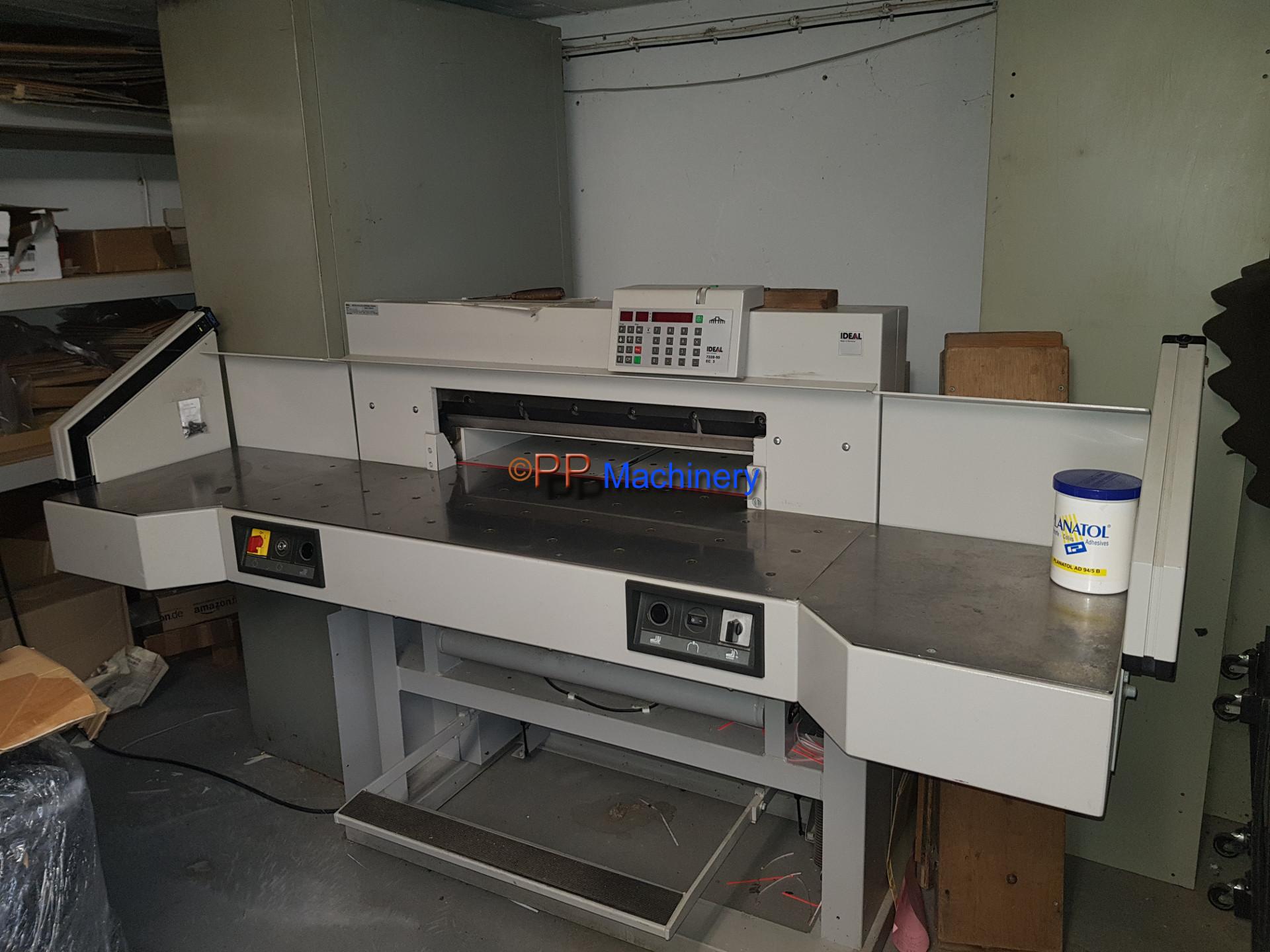 Ideal paper cutter