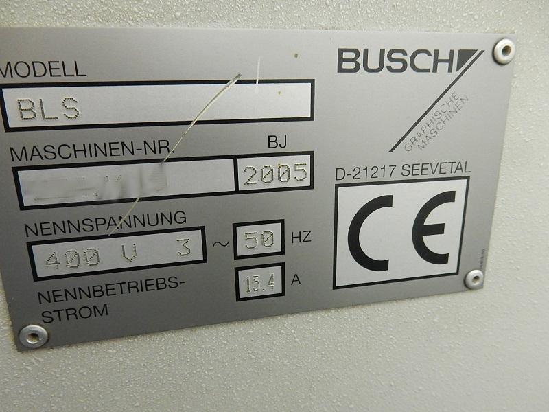 Busch BLS 1 label punch