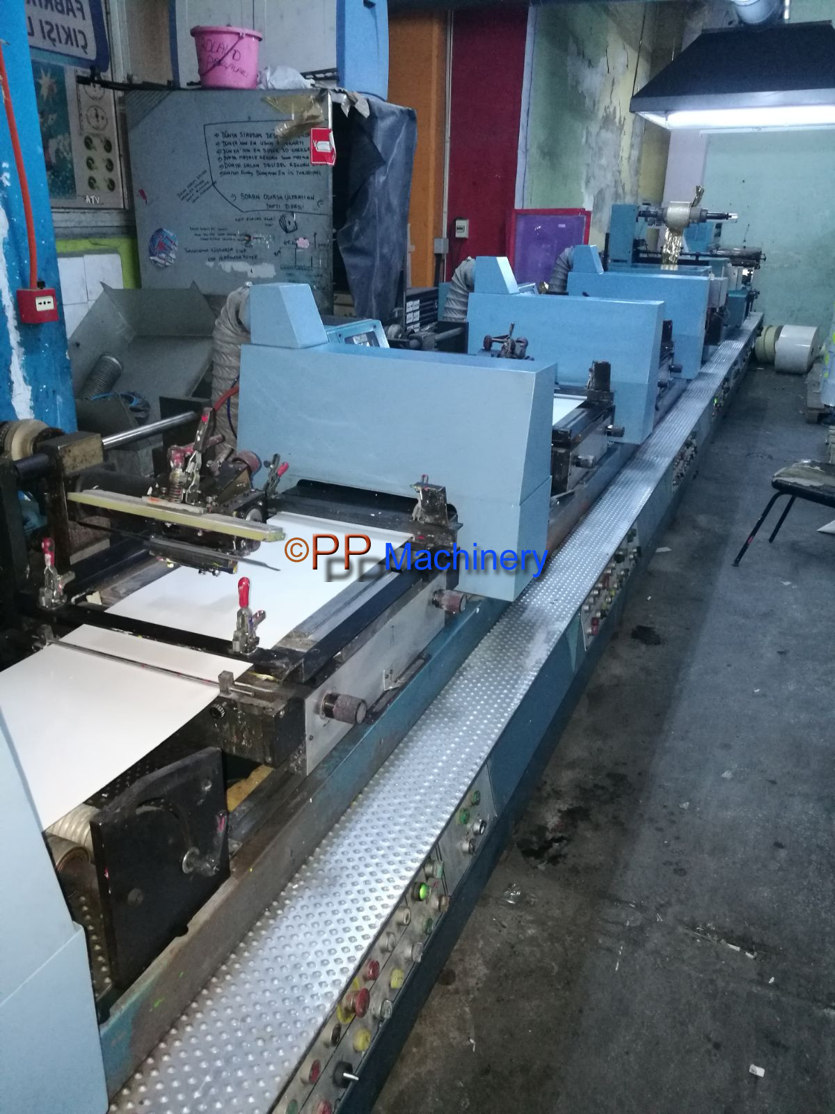 Franchini & DMR Screen printing machine 1