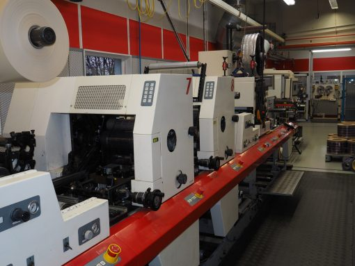 MPS EP 330 8 colours flexo label printer