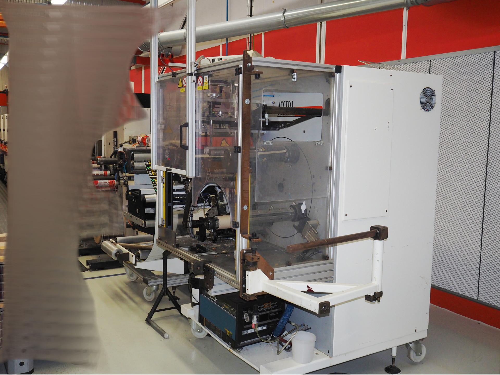 ABG TR 410 turret rewinder for labels