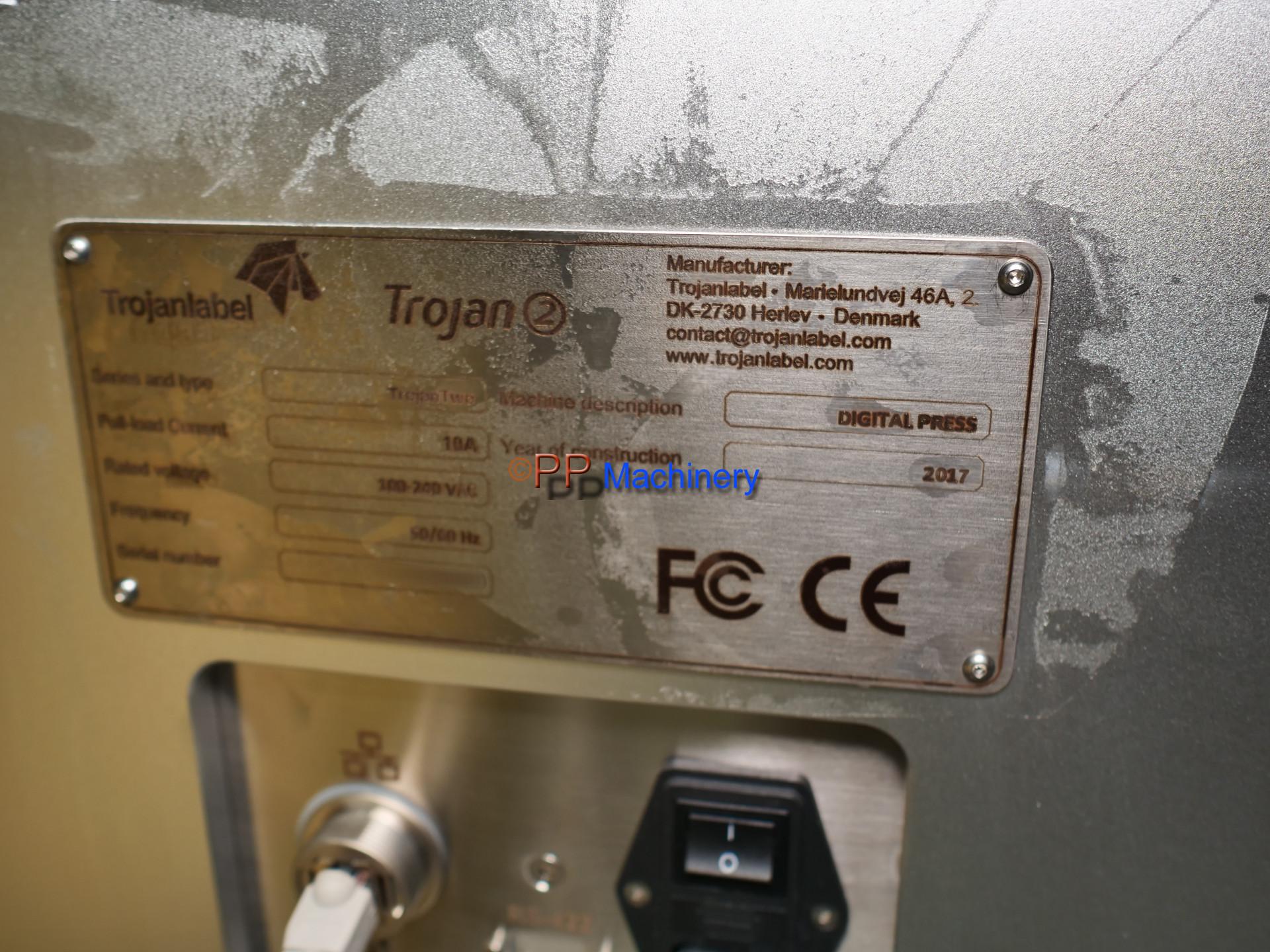TrojanLabel – TrojanTwo – Mini Digital Label Press Powered