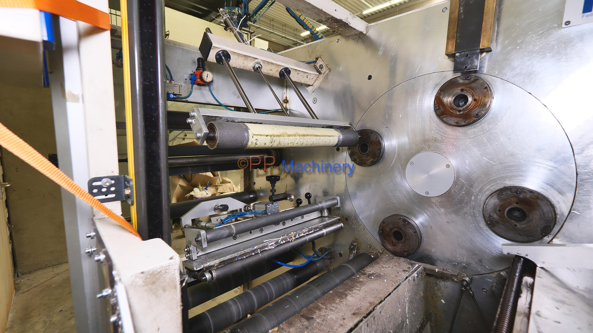 FIT turret rewinder 330 mm from 2004 5