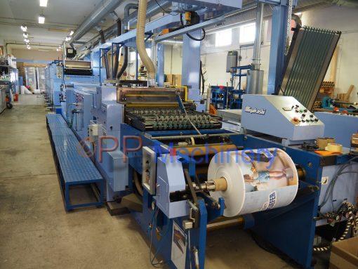 Miyakoshi MVF 26K - 6 colours offset printing machine 6 colours Variable Format Web Offset Press