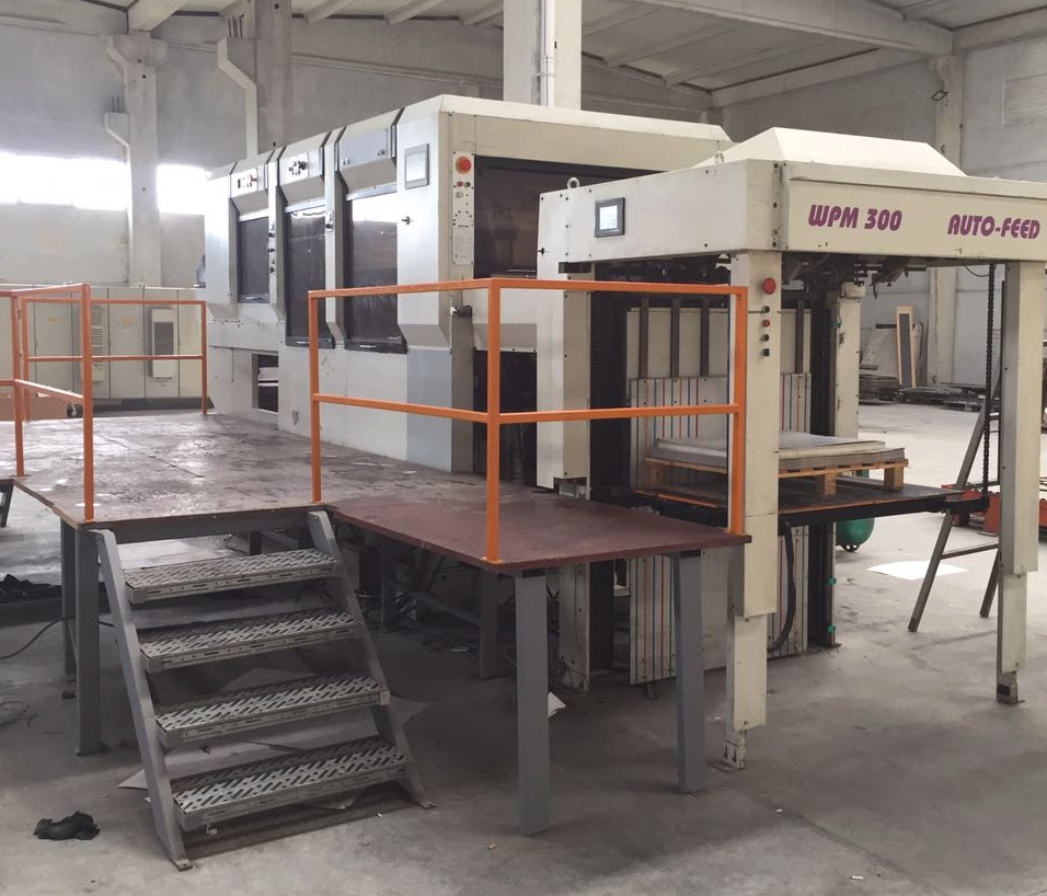 WPM 300 Auto Feed Automatic Die Cutter