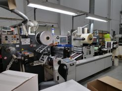 AB Graphics Digicon Series I label converting machine