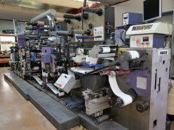 Gallus R 200 Letterpress - Screen printing hot foil l- laminating