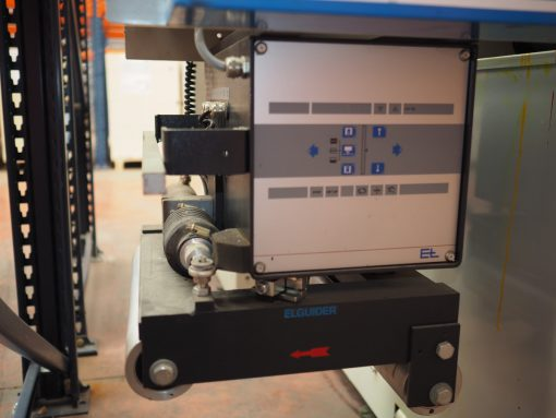 Smag 2 colour Flexo printer - Slitter Rewinder - Die cutter - Sheeting station 310 mm