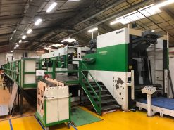 BOBST SPO 160 ER - Automatic Die Cutter with stripping and blanking.