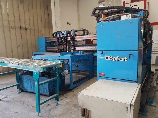 Göpfert SRE Maxi Boxmaker with printing heads
