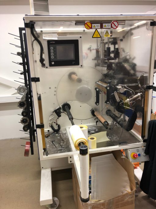 AB Grahics VectraLCTR 330 from 2014 – Automatic turret rewinder for labels