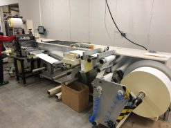 LeoMat Germany Slitter Rewinder Die Cutter from 2005 - 400 mm/15,74 inch - Leomat 400 SF