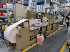 Mark Andy 4120 Slitter Rewinder Die Cutter Flexo printer