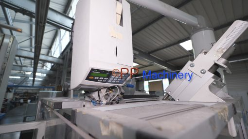 Ashe Opal 520 – Automatic turret rewinder glueless and automatic core dispenser