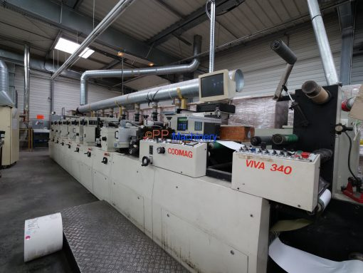 CODIMAG VIVA 340 6 colours letterpress label press