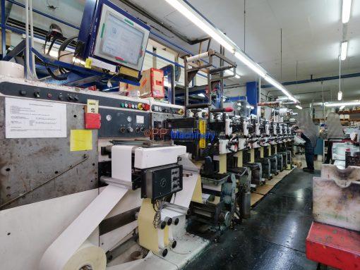 Nilpeter F 2500 8 colours flexo label printer