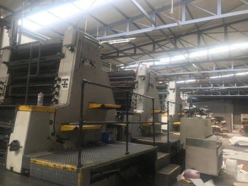 Roland 806-6 LX Offset printing