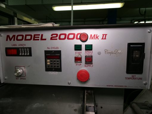 Nefoil 2000 MK II hot foil stamper