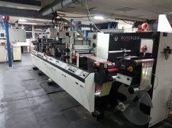 Rotoflex Vericut C2 Digital label finishing machine