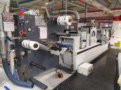 ABG Omega Digicon Series II Digital finishing Slitter Rewinder Die Cutter for labels