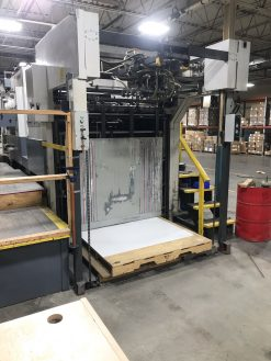 Bobst SP 1600 E Automatic Die Cutter