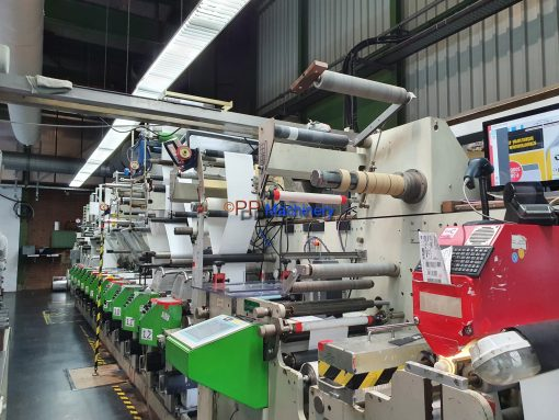 Gidue Bobst I Combat 430 – 12 colours Flexo press