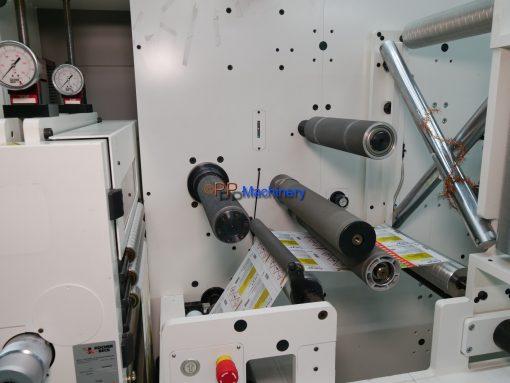 ABG Vectra SGTR 330 Turret Rewinder Die Cutter