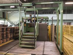 Bahmüller Stitching line for corrugated boxesSL 25:29 S 1
