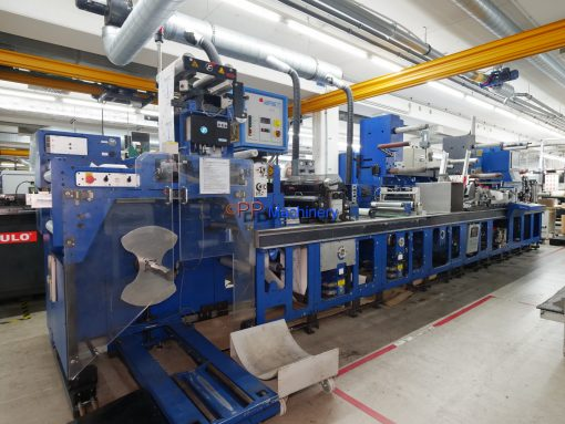 Gallus Arsom EM 410 Flexo booklet production line