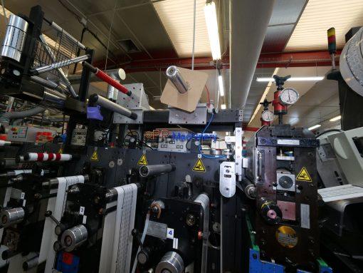 Gallus EM 280 4 colours flexo label press from 2005