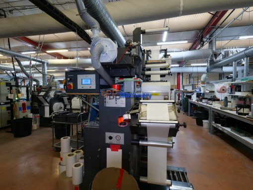 Gallus EM 280 7 colours flexo label press for sale www.ppmachinery.com