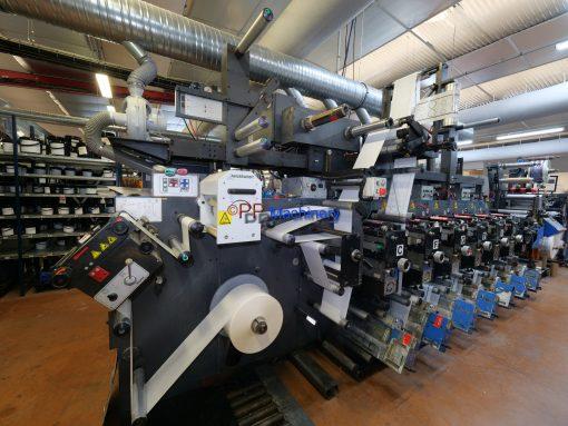 Gallus EM 280 7 colours flexo label press