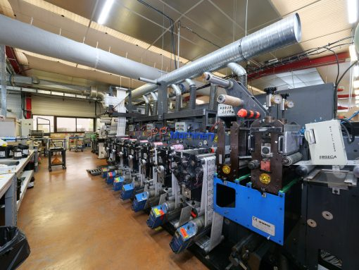 Gallus EM 280 7 colours flexo label press