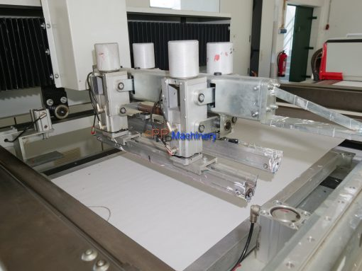 TSI Spezialmaschinen FLB 500 2 colors screen printing
