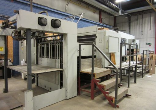 Bobst SP 142 E Automatic Die Cutter from ppmachinery.com