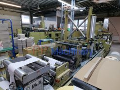 Gallus EM 410 4 colours flexo label press