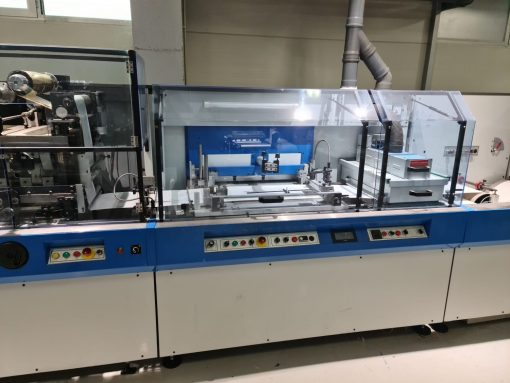 SMAG GALAXIE label finishing machine