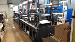 Gallus Arsoma EM 410 - 7 colours flexo label printing press