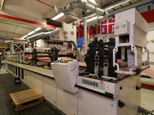 Gallus EM 410 8 colours Flexo press