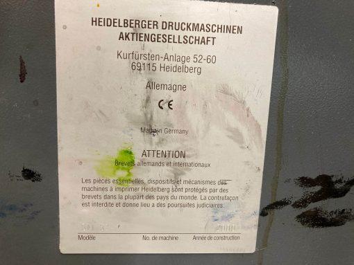 Heidelberg Speedmaster SM 52-2