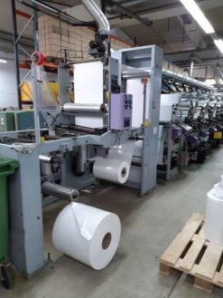 Omet Multifilm 520 FP UV 10 colours UV Flexo label press
