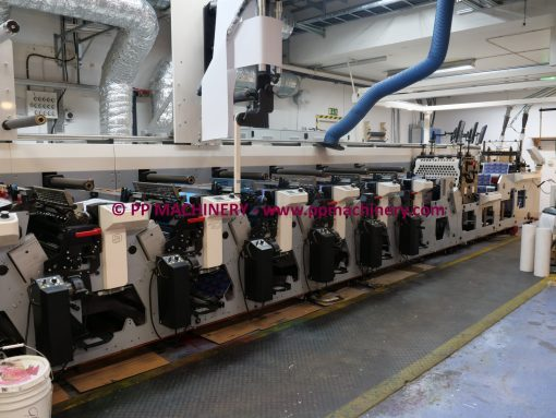 MPS EF 520 14 colours flexo press