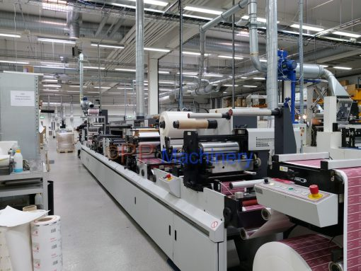 ABG Digicon label finishing machine
