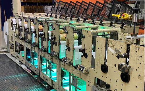Mark Andy 13 inch Flexo press
