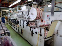 Gidue Combat 370 8 colours flexo label printing press